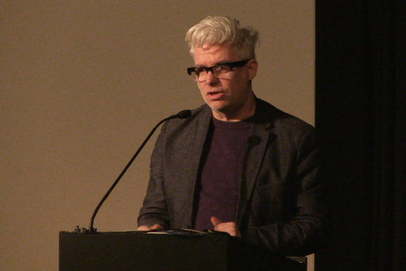 Dave Beech at 'Art is not a Commodity: Examining Economic Exceptionalism in Art', ICA, London, 18 February 2017. Courtesy: ICA, London