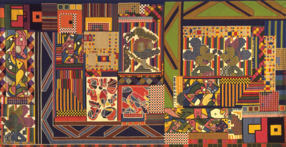 Eduardo Paolozzi, The Whitworth Tapestry, 1967. Courtesy Whitechapel Gallery