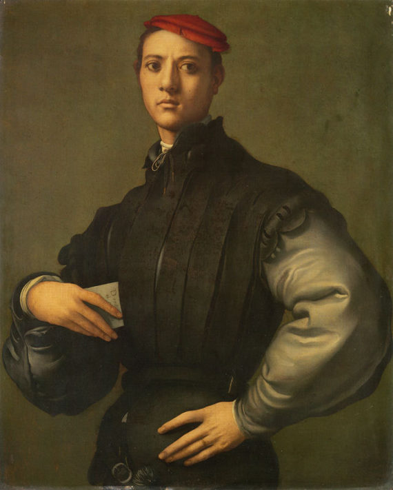 Jacopo Pontormo, Portrait of a Young Man in a Red Cap. Photo: DCMS