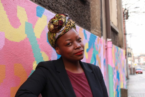 Saziso Phiri, founder of The Anti Gallery, Nottingham. Photo: Helen Kennedy