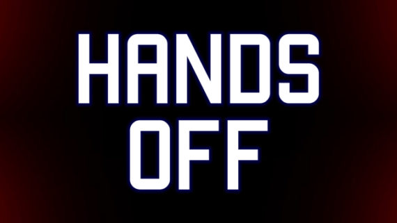 Mark Titchner, HANDS OFF. Courtesy: the artist and Vilma Gold