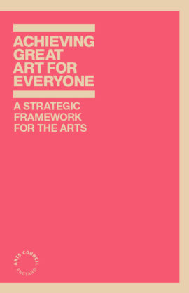 Achieving great art for everyone. Image taken from front cover of PDF.