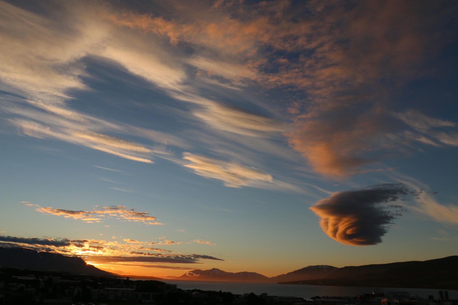 Akureyri, Northern Iceland