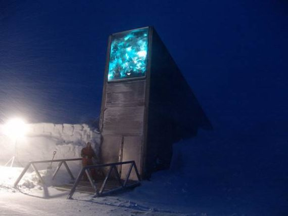 AKA the Domesday Seed Vault opened 2008