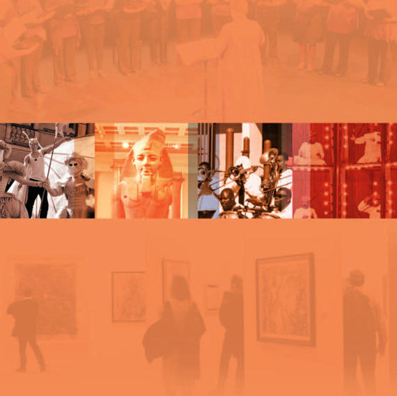Understanding the value of arts & culture: the AHRC cultural value project. Image taken from front cover of PDF.