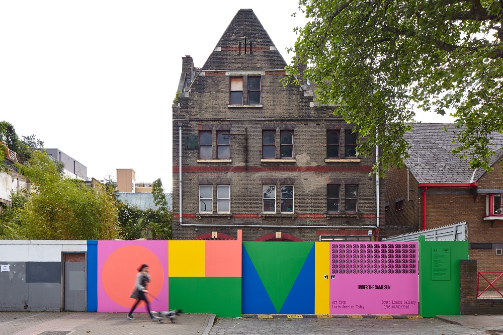 View of the former Peckham Road Fire Station during Under the Same Sun: Art from Latin America Today, 10 June–11 September 2016. Courtesy: Solomon R. Guggenheim Foundation and the South London Gallery. Photo Andy Stagg