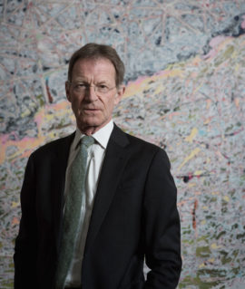 Nicholas Serota. Photo: Hugo Glendinning, 2016; Courtesy: Arts Council England
