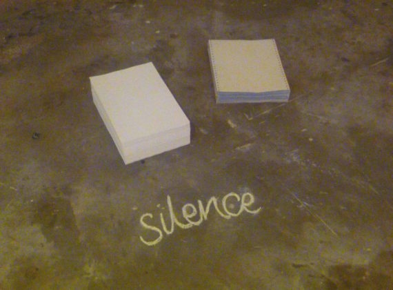 Rachel Rankin, installation view, 'Making Scenes' exhibition, Platform Arts, Belfast. Photo: Damian Magee