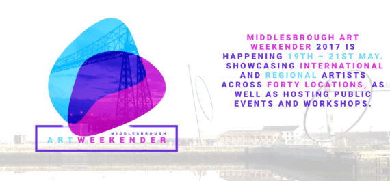 Middlesbrough Art Weekender, flyer