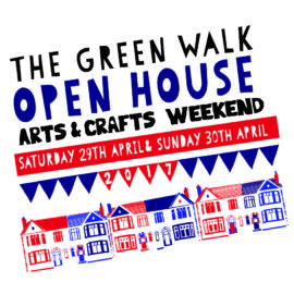 The Green Walk Open House Arts & Crafts Weekend
