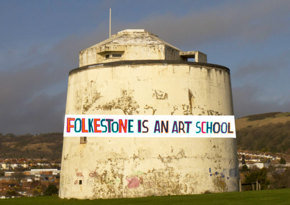 Bob and Roberta Smith, Folkestone Is An Art School! Courtesy: Folkestone Triennial