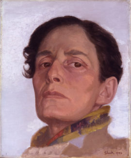 Hannah Gluckstein, Gluck, 1942. Oil on canvas, 306 x 254 mm. © National Portrait Gallery