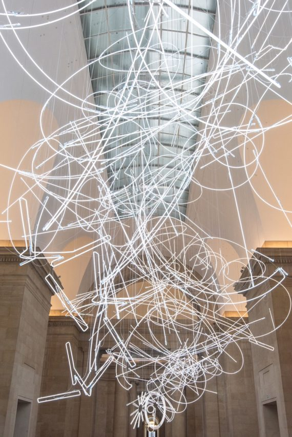 Cerith Wyn Evans, Tate Britain Commission. Tate Photography/Joe Jumphreys