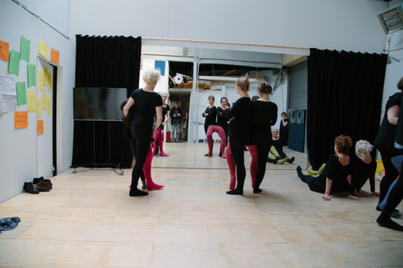 Ortonandon, Tighter Than Tights GIF Workshop, as part of Rhubaba Gallery and Studio's exhibition 'Dance like nobody's watching or Dance like you're not dancing', 2014.