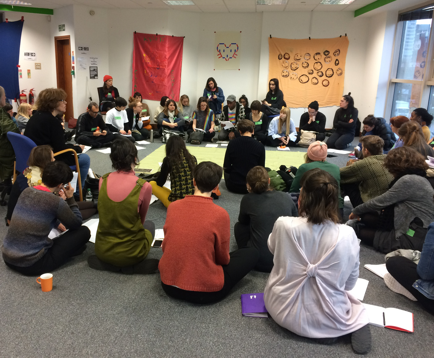 Keep it Complex – Make it Clear, Unite Against Dividers, a weekend of workshops, debates, questions and networking to equip and activate the arts community after the UK's EU Referendum, January 2017.