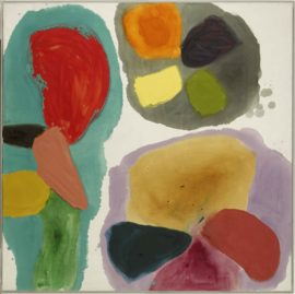 Gillian Ayres, Lure, 1963, Arts Council Collection, Southbank Centre, London (c) the artist. Courtesy National Museum Cardiff
