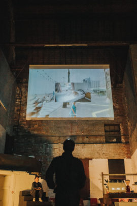 Big Screen. Photo: Ellie Grace; Courtesy: Sheffield Contemporary