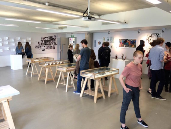 LJMU Liverpool School of Art and Design, 2016 degree show. Photo: Andy Jones, a-n Instagram degree shows takeover