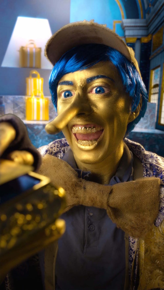 Rachel Maclean, Spite Your Face, 2017, digital video (still). Courtesy the artist. Commissioned by Alchemy Film & Arts in partnership with Talbot Rice Gallery and the University of Edinburgh on behalf of Scotland + Venice