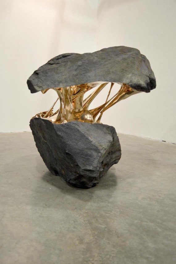Another example of Romain Langloir's boulders.
