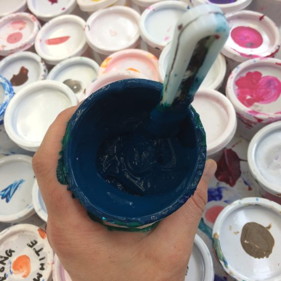 acrylic ink for  water -based screen printing