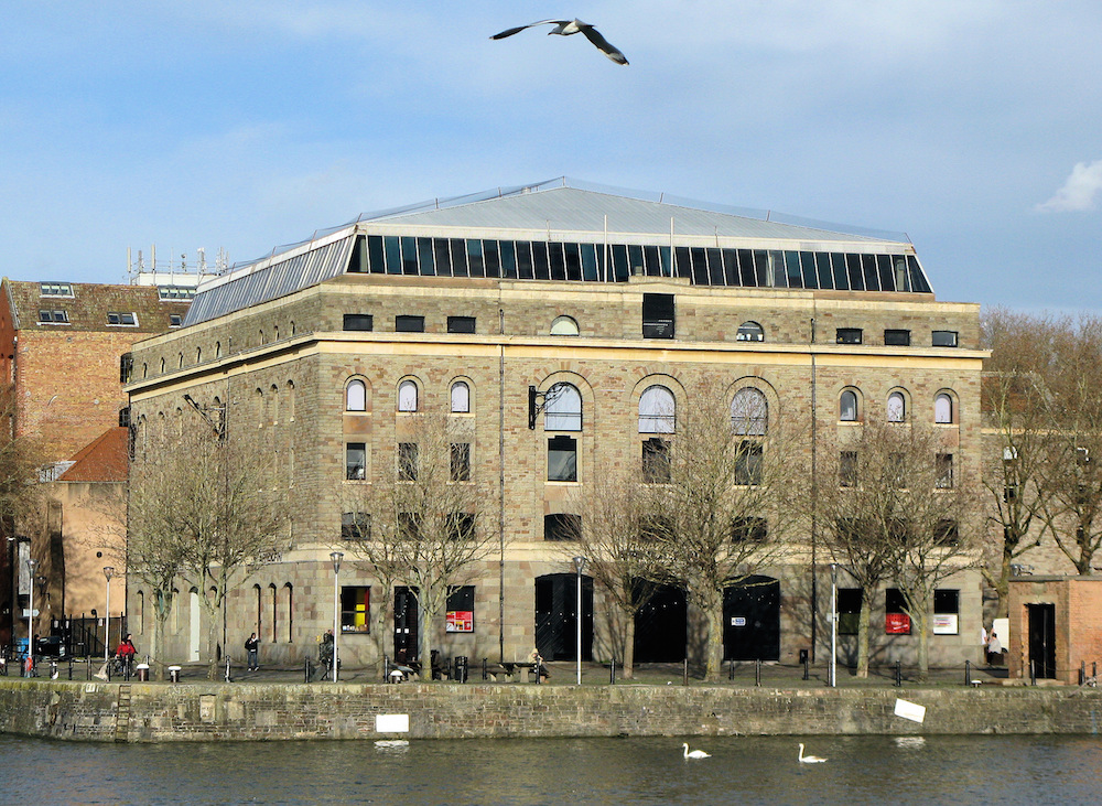 Arnolfini, Bristol. Photo: Adrian Pingstone via Wikipedia