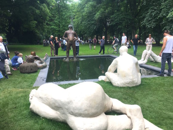 Nicole Eisenman, Sketch for a Fountain, Skulptur Projekte Münster 2017. Photo: Mark Gubb
