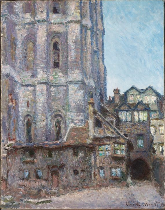 Claude Monet, La Cour d'Albane, 1892. Smith College of Art Northampton, Massachusetts Gift of Adeline Flint Wing, class of 1898, and Caroline Roberta Wing, class of 1896. Courtesy: The National Gallery