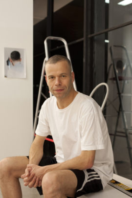 Wolfgang Tillmans. Photo: Karl Kolbitz, 2012; Courtesy: Maureen Paley, London