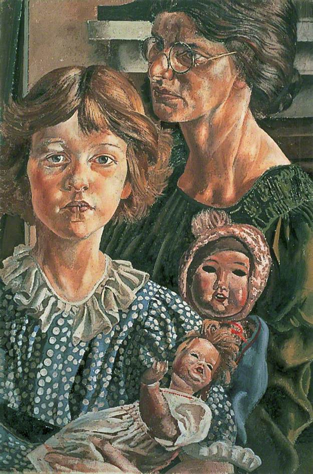 Painting by Stanley Spencer