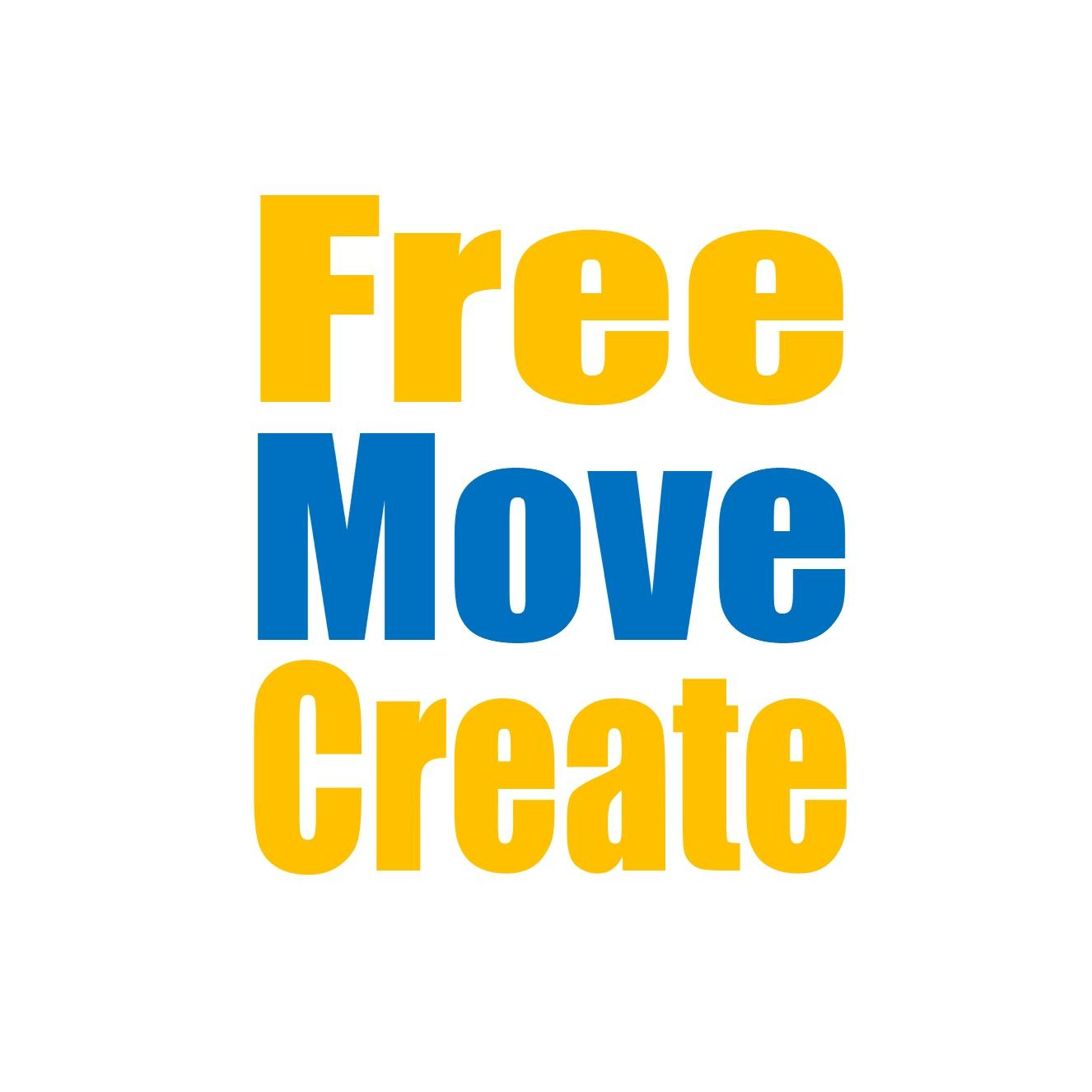 #FreeMoveCreate campaign