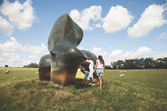 Henry Moore, Sheep Piece 1971-72  Photo: Jonty Wilde. Reproduced by permission of the Henry Moore Foundation