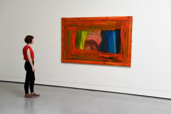 Picture By Darren O'Brien/Guzelian Picture Shows Afternoon 1998/99 by Howard Hodgkin. Oil on board.