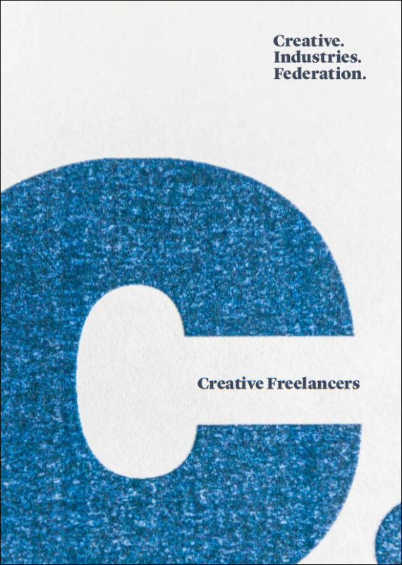 Creative Freelancers, published by Creative Industries Federation