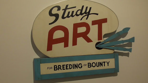 John Waters, Study Art Sign, 2007 © Photo: Margherita Gramegna