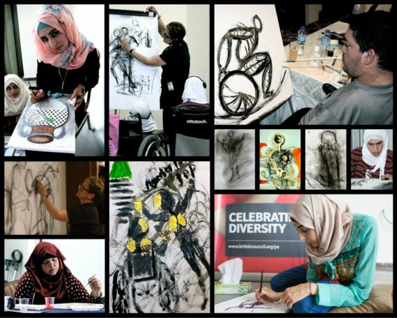 Collaborating with Disabled Artists from the West Bank