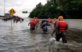 Texas Army National Guard Hurricane Harvey Response. US Army photo by 1st Lt. Zachary West, via Wikimedia Common