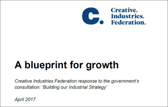 A blueprint for growth creative industries federation response to a blueprint for growth malvernweather Choice Image