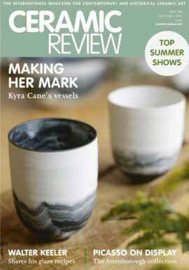 Ceramic Review cover July August 2017