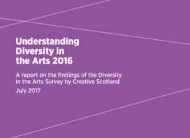 Creative Scotland report on diversity in the arts