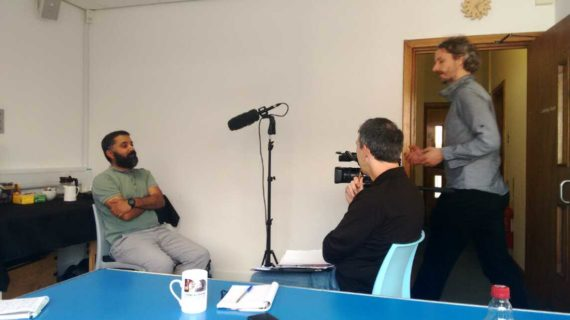 training how to conduct an oral history interview