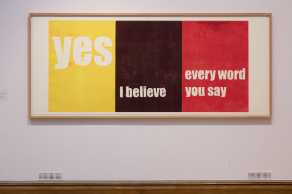 Andrea Buttner, Yes, I believe, every word you say, 2007. The Turner Prize exhibition. Ferens Art Gallery. Hull. Photo: David Levene