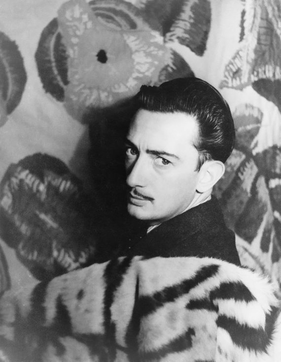 Salvador Dalí 1939. Photo: Carl Van Vechten, Library of Congress. Creative Commons