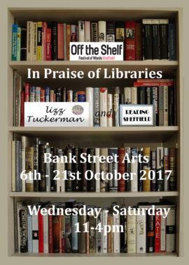 In Praise of Libraries  Bank Street Arts Sheffield