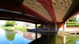 Take Me to the River - an artwalk in Taunton by Michelle Rumney