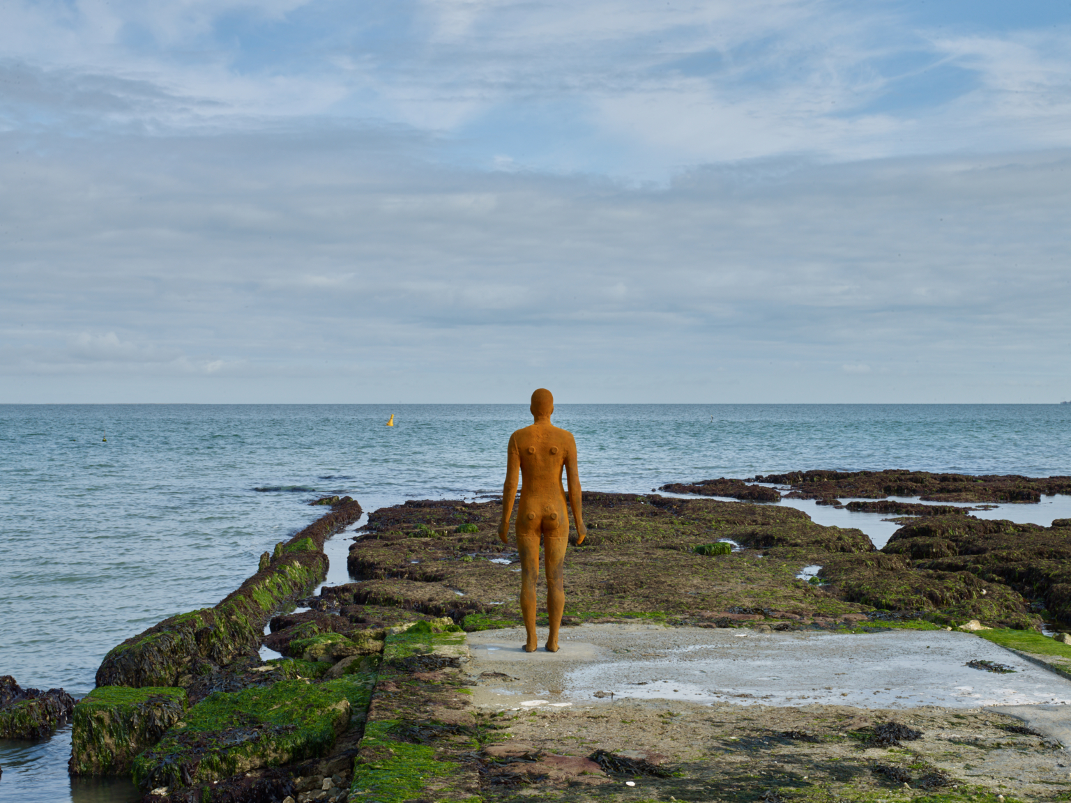 Antony Gormley, Another Time, 2017. Photo: Stephen White