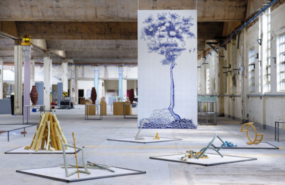 Award 2015, China Hall, original Spode factory. Photo: © Joel Fildes for British Ceramics Biennial