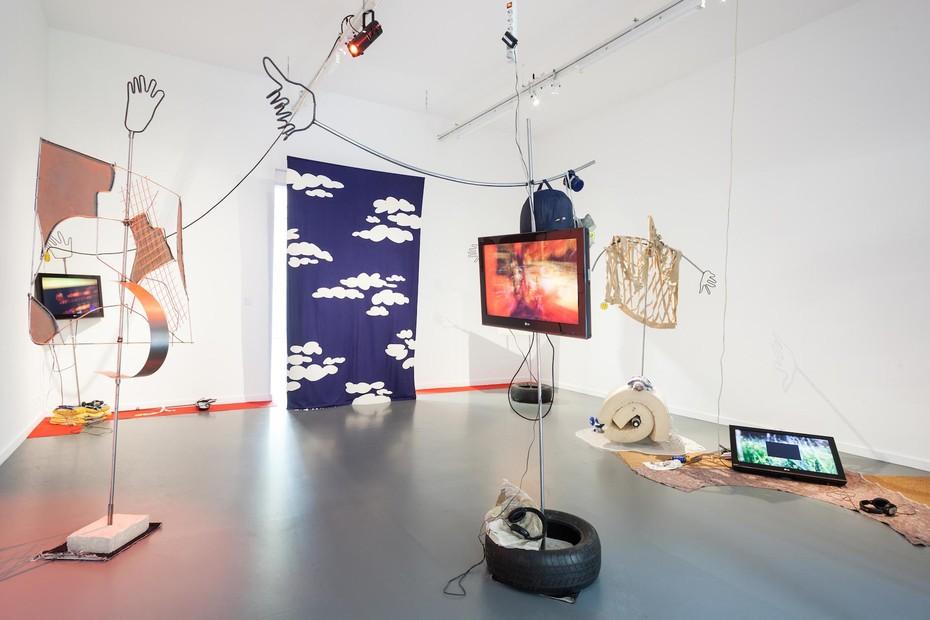 Philip Ewe, Boomerang (2015), Installation, Kairos Time, TENT, Rotterdam (2015). Image: Ghislain Amar
