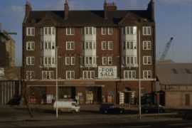 Still from 'Firestation' by William Raban, 16mm/DV (2000), commissioned by Acme Studios