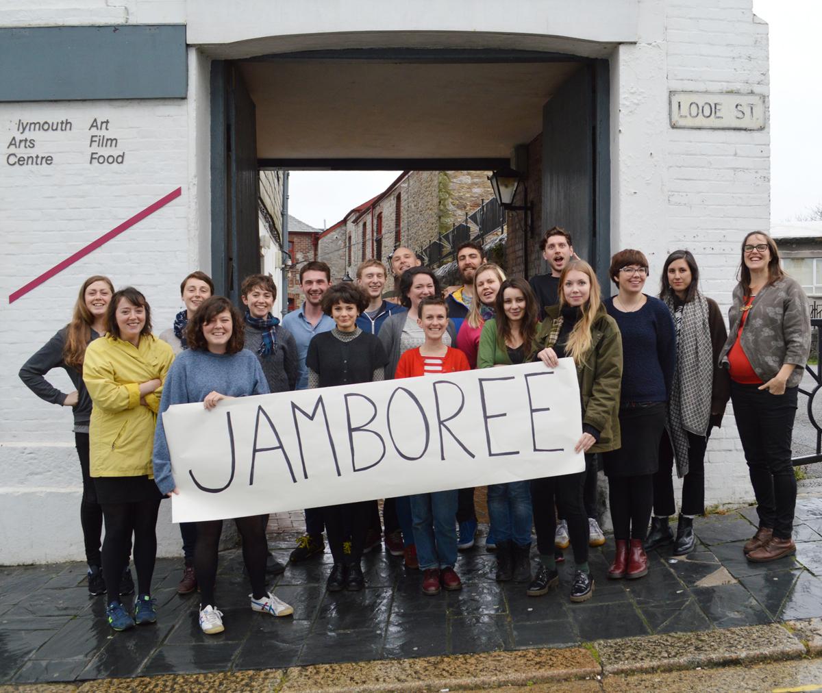 Jamboree pilot at Plymouth Arts Centre, 2015